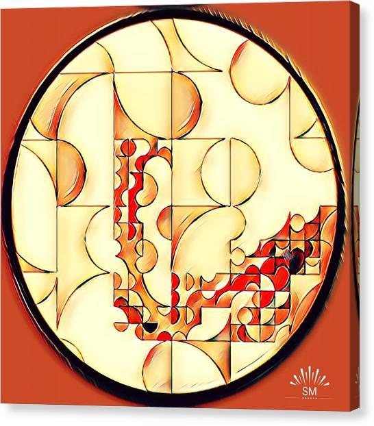 Four Circle Turn Canvas Print