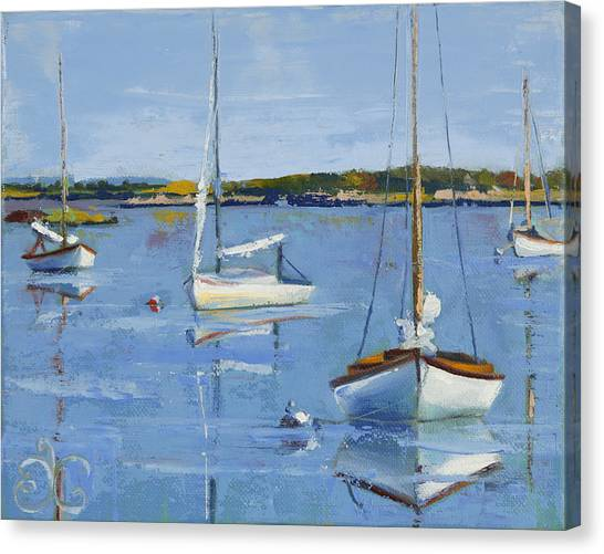 Four Daysailers Canvas Print