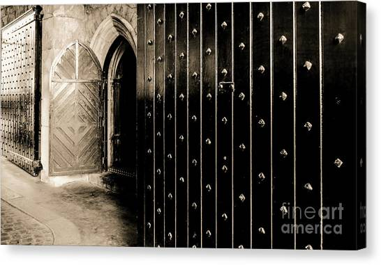 Four Doors To Choose Canvas Print