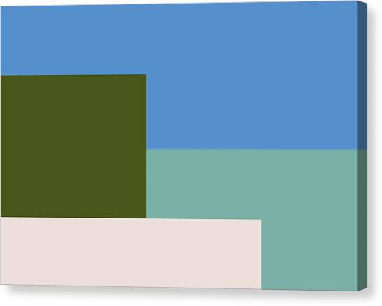 Tetris Canvas Print - Four Elements by Steven Robiner