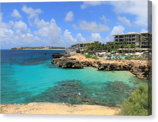 Four Seasons Hotel In Anguilla Canvas Print