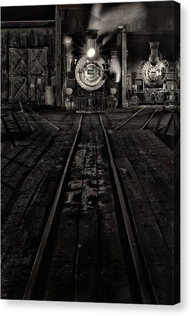 Foureightytwo B And W Version Canvas Print