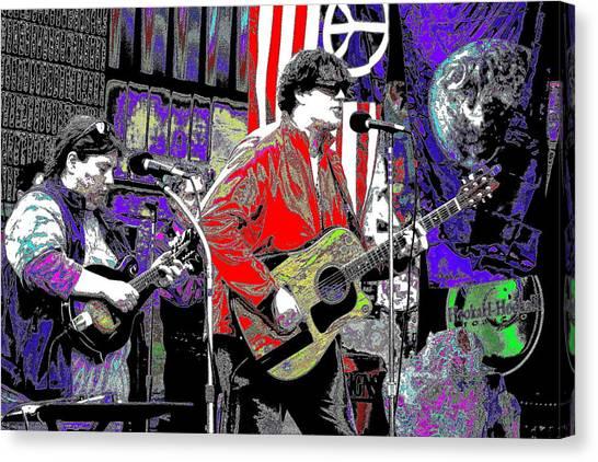 Fourteen Strings Canvas Print