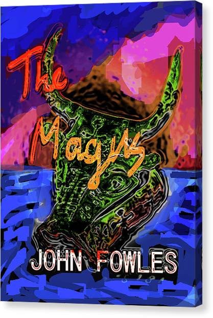 Fowles Magus Poster  Canvas Print