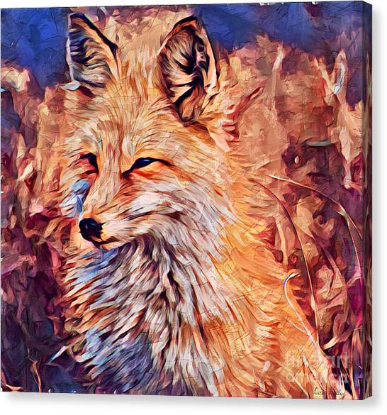 Fox 2 Canvas Print
