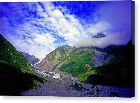 Fox Glacier Canvas Print - Fox Glacier by Kevin Smith