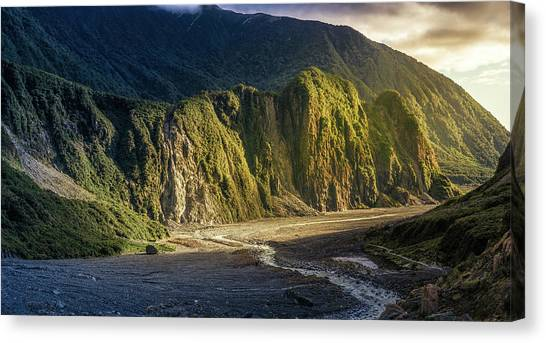 Fox Glacier Canvas Print - Fox Glacier Valley 2 by Martin Capek