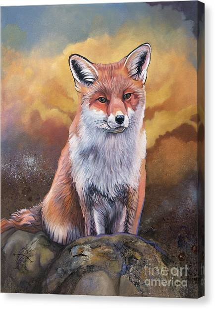 Fox Knows Canvas Print