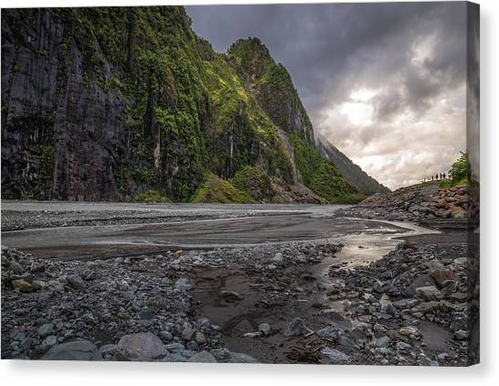 Fox Glacier Canvas Print - Fox River by Racheal Christian