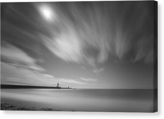 Foz Lighthouses Canvas Print