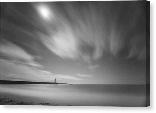 Foz Lighthouses Canvas Print
