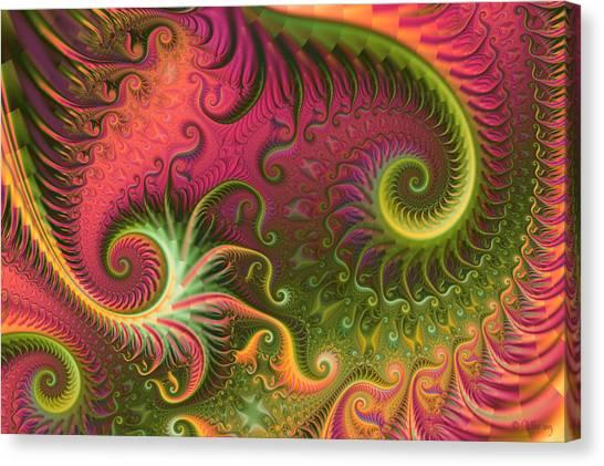 Fractal Ameba Canvas Print