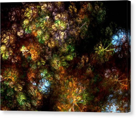 Fractal Flowers Canvas Print
