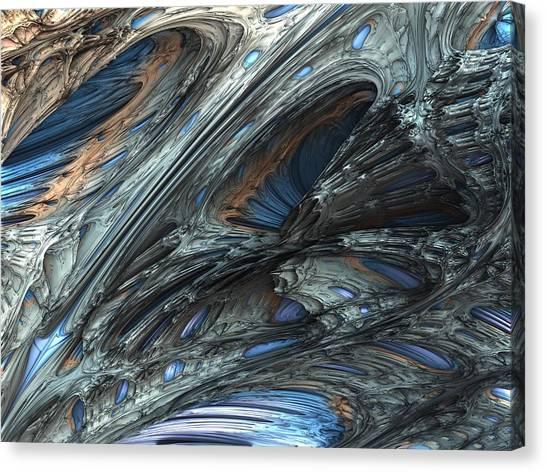 Fractal Structure 001 Canvas Print