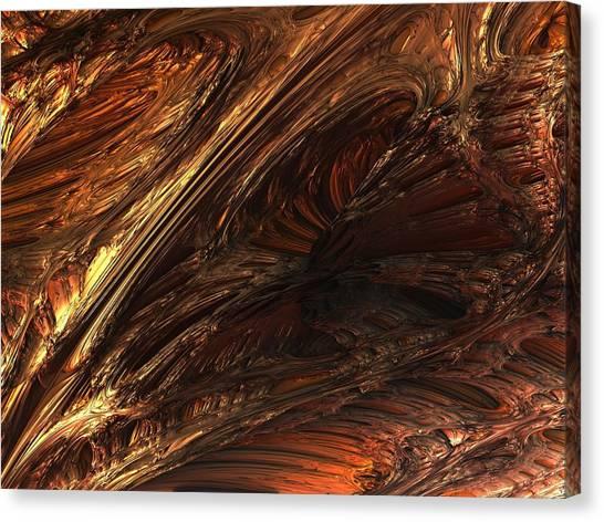 Fractal Structure 003 Canvas Print