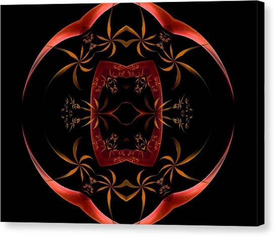 Fractal Symmetry Canvas Print