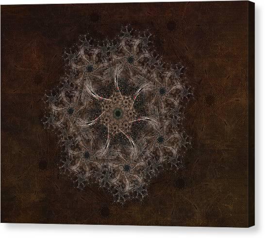 Fractal Tapestry Canvas Print by AGeekonaBike Fine