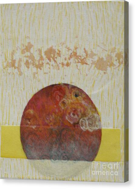 Fragile Conditioning- 4 Canvas Print by Asma Hashmi