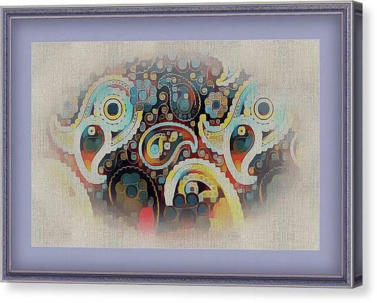 Framed Fantasy Canvas Print