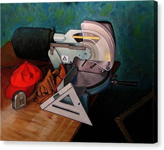 Framer's Tools Canvas Print by Doug Strickland