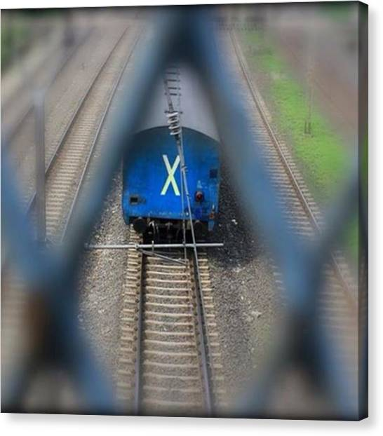 Trainspotting Canvas Print - Frame(x) Into Frame(x) #frame #train by Deepak Karki