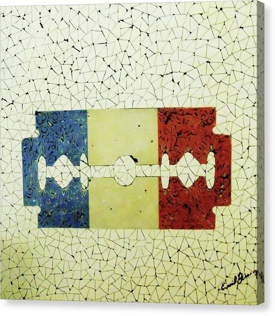France Canvas Print by Emil Bodourov