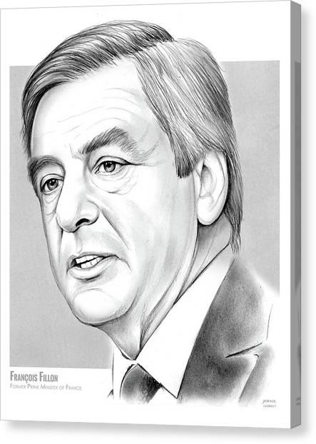 Prime Canvas Print - Francois Fillon by Greg Joens