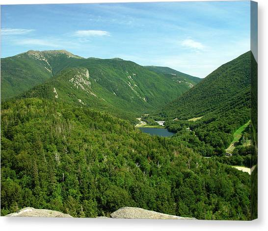 Franconia Notch Canvas Print by Eric Workman