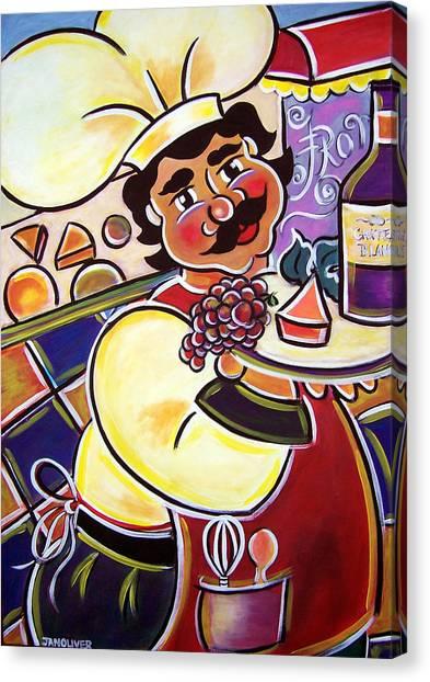 Franco's Cheese Shop Canvas Print