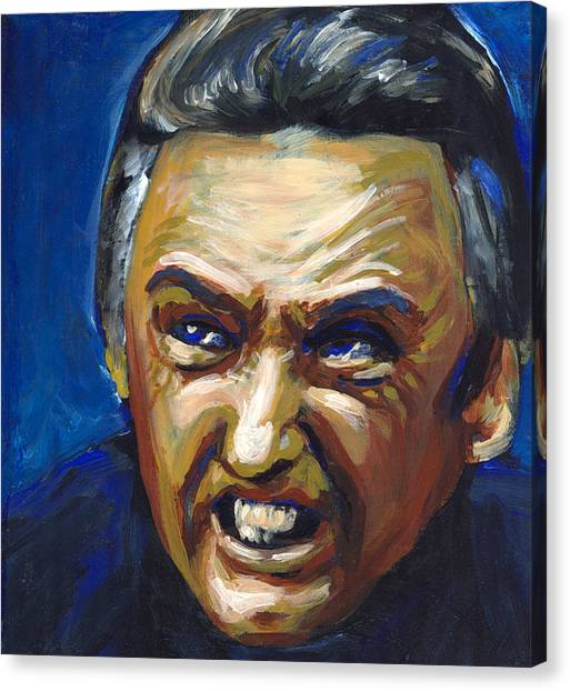 Dennis Hopper Canvas Print - Frank Booth by Buffalo Bonker