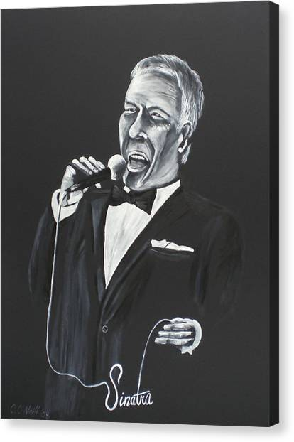 Frank Canvas Print by Colin O neill
