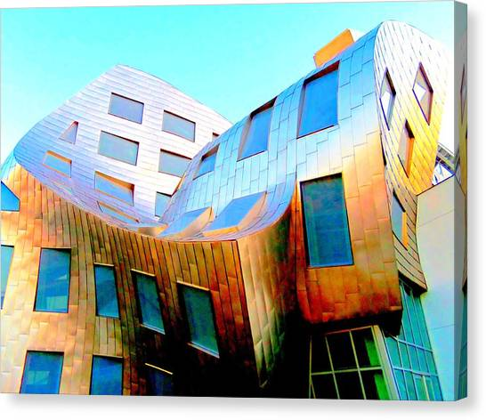 Frank Gehry 9 Canvas Print