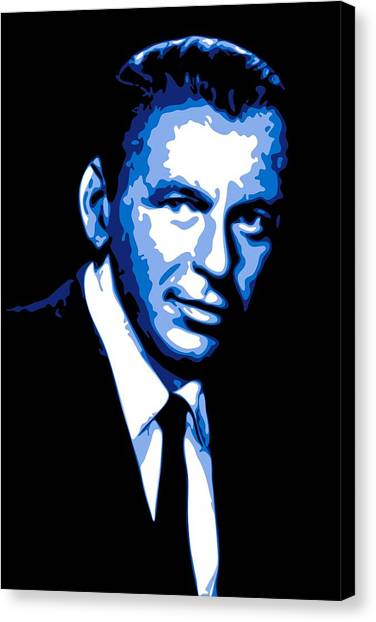 Ratpack Canvas Print - Frank Sinatra by DB Artist