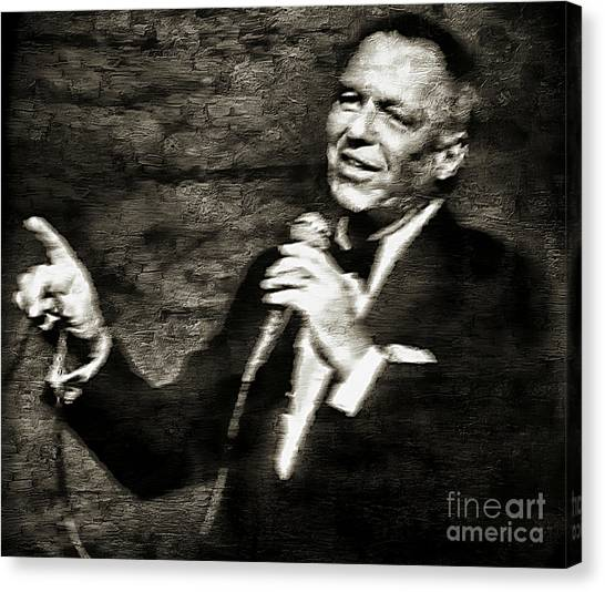 Frank Sinatra -  Canvas Print