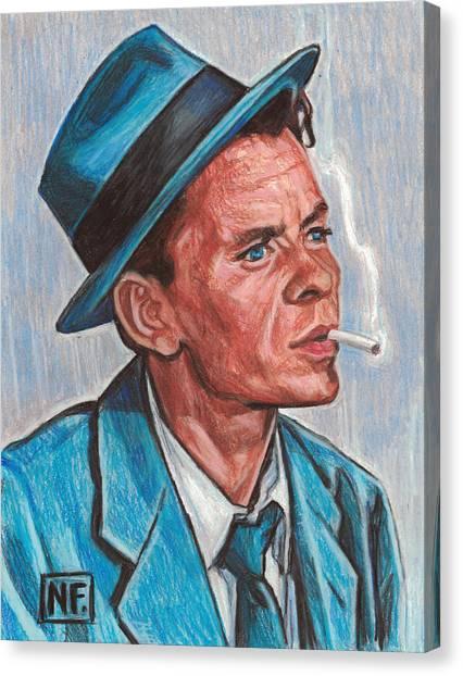 Frank Sinatra Canvas Print - Frank Sinatra  by Neil Feigeles