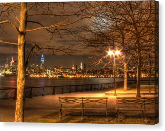 Warner Park Canvas Print - Frank Sinatra Park by Lee Dos Santos
