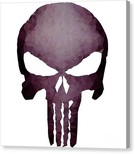 Frank Skull Canvas Print