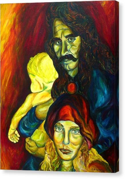 Frank Zappa Canvas Print - Frank Zappa   by Carole Spandau