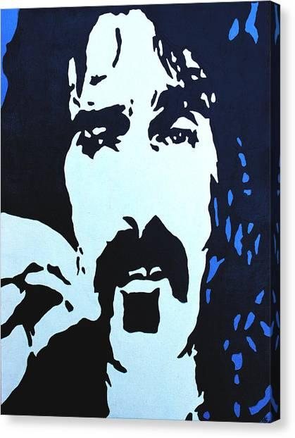 Frank Zappa Canvas Print - Frank Zappa by Murray Stiller