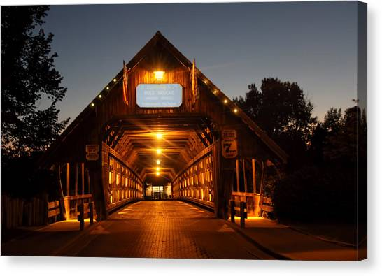 Frankenmuth Covered Bridge Canvas Print