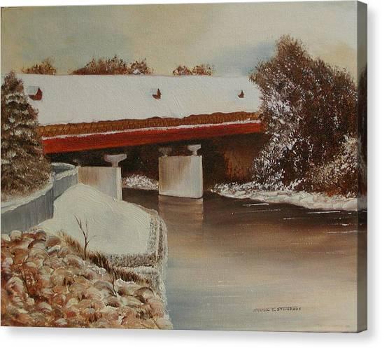 Frankenmuth Michigan Canvas Print by Sharon Steinhaus