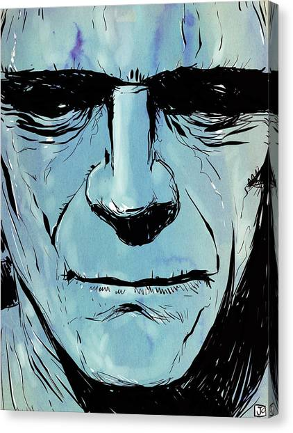 Horror Canvas Print - Frankenstein by Giuseppe Cristiano