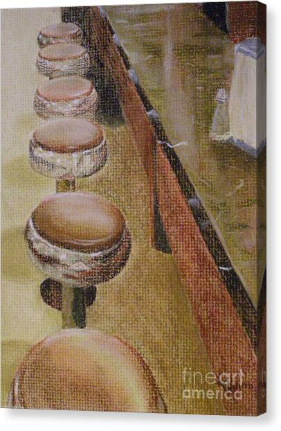 Franks Deli Canvas Print