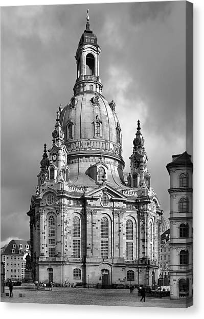 Frauenkirche Dresden - Church Of Our Lady Canvas Print