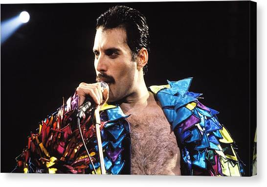Mercury Canvas Print - Freddie Mercury by Super Lovely