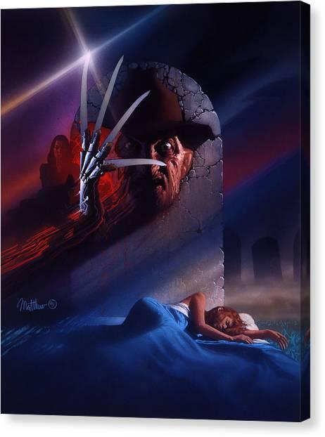 Final Fantasy Canvas Print - Freddys Dead The Final Nightmare 1991 by Fine Artist
