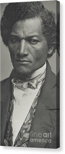 Shoulders Canvas Print - Frederick Douglass by American School