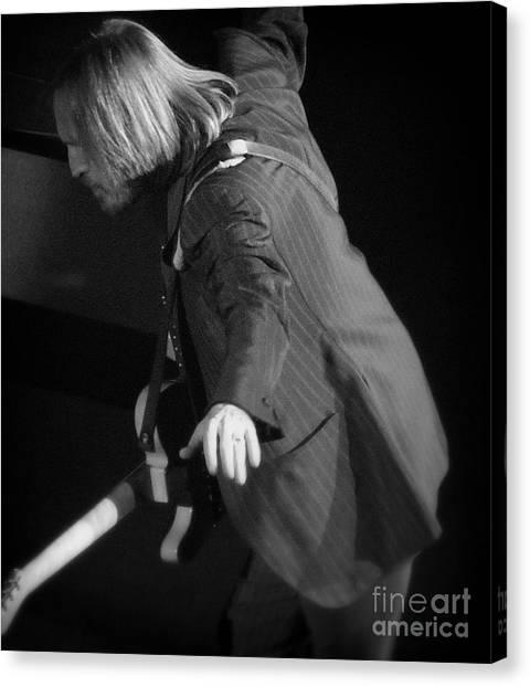 Tom Petty Canvas Print - Free Fallin' - Tom Petty by J J  Everson