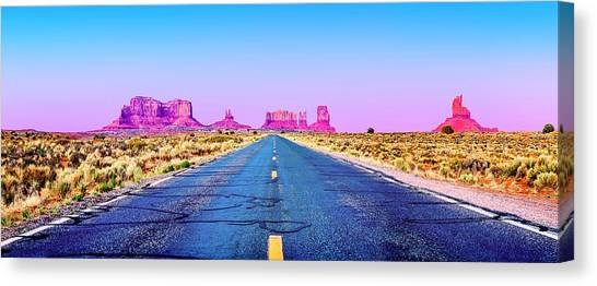 Red Rock Canvas Print - Freedom by Az Jackson