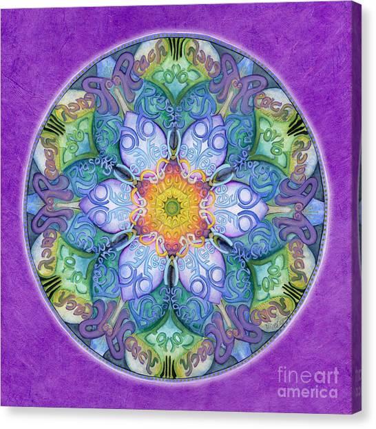 Freedom Mandala Canvas Print